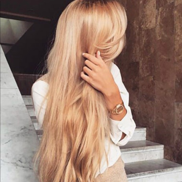 Hairextensions Other Blonde Hair Extensions Real Human Hair 16
